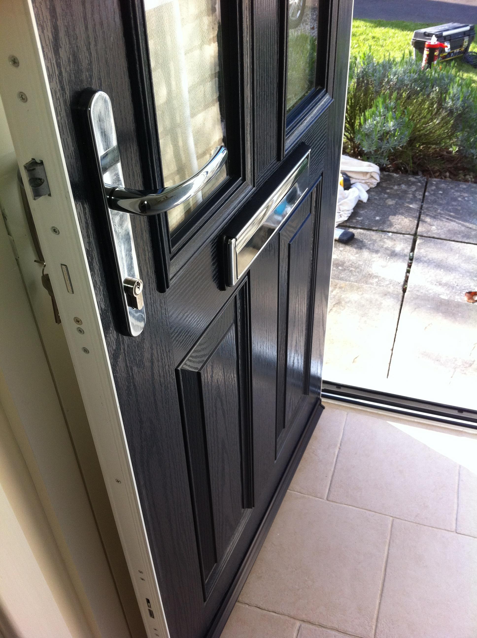 Composite Door Sill Amp Internal Lock Side