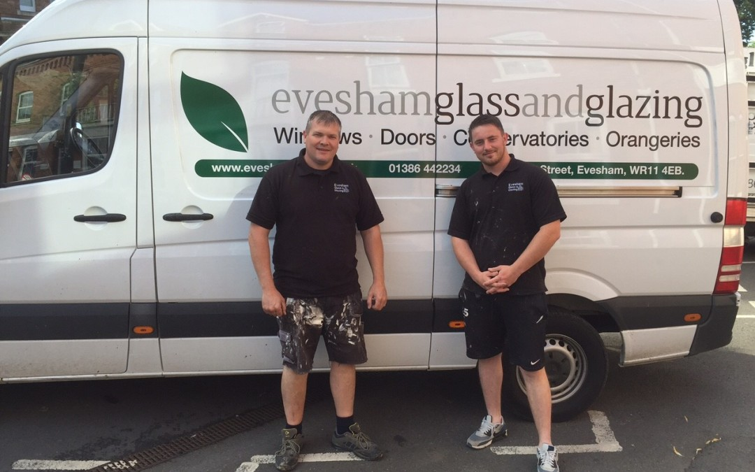 New fitting team for Worcestshire Glass and Glazing company