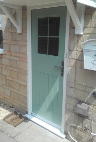 Composite Front Door in Dumbleston Worcestershire