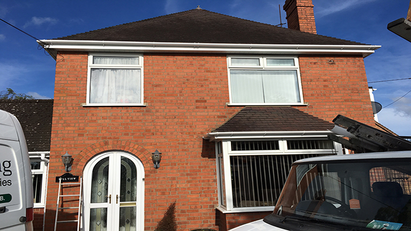 Mr Bennett, New Fascias, Sofits and Guttering – Harvington Worcestershire