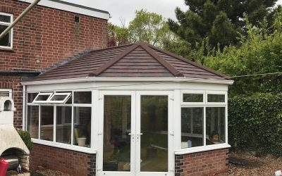 Mr Henderson, Evesham Worcestershire. Guardian Roof System.