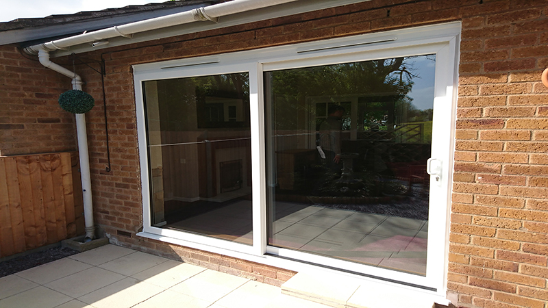 Mr Dawson, uPVC patio slider, Bishampton nr Pershore Worcestershire