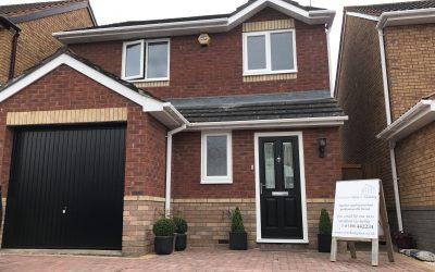 Mr and Mrs Beeres, New uPVC Windows and Composite Door, Evesham, Worcestershire