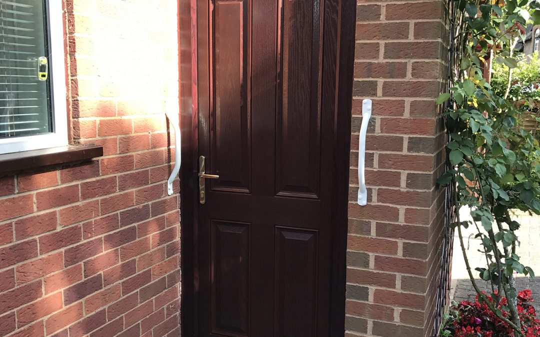 Mrs Castle, Composite Door, Fladbury nr Evesham Worcestershire