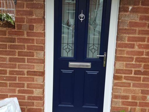 Endurance Composite Door in French Navy