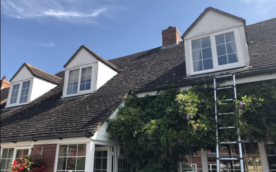 Mr and Mrs Armstrong, Cladding, Guttering and Soffit Work Lower Quinton Warwickshire