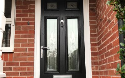Mr and Mrs Hurwood, Composite Door Shipston On Stour