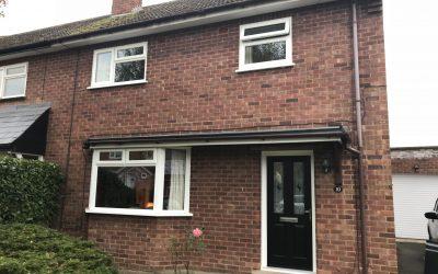 Mrs Millward, New Composite Front Door, Evesham, Worcestershire