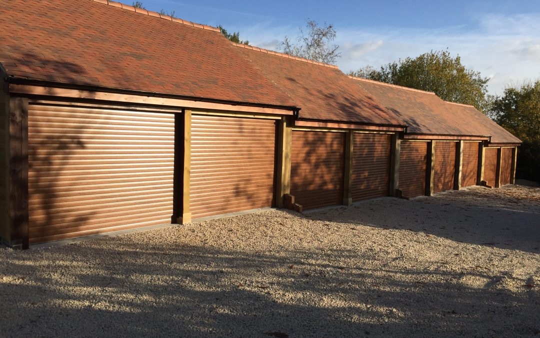 Electric Roller Garage Door Installation, Warwickshire