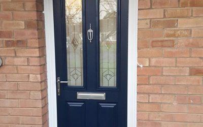 New Composite Front Door Installation