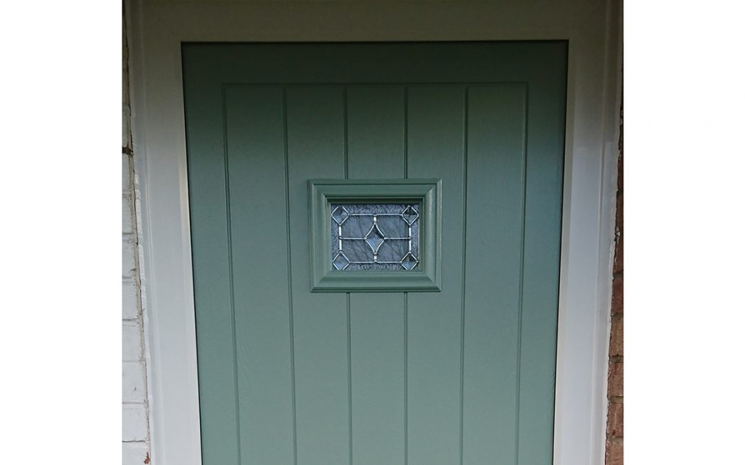Mrs Green, Composite Front Door Broadway, Worcestershire
