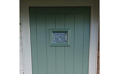 Mrs Green, Composite Front Door Broadway, Worcestershire