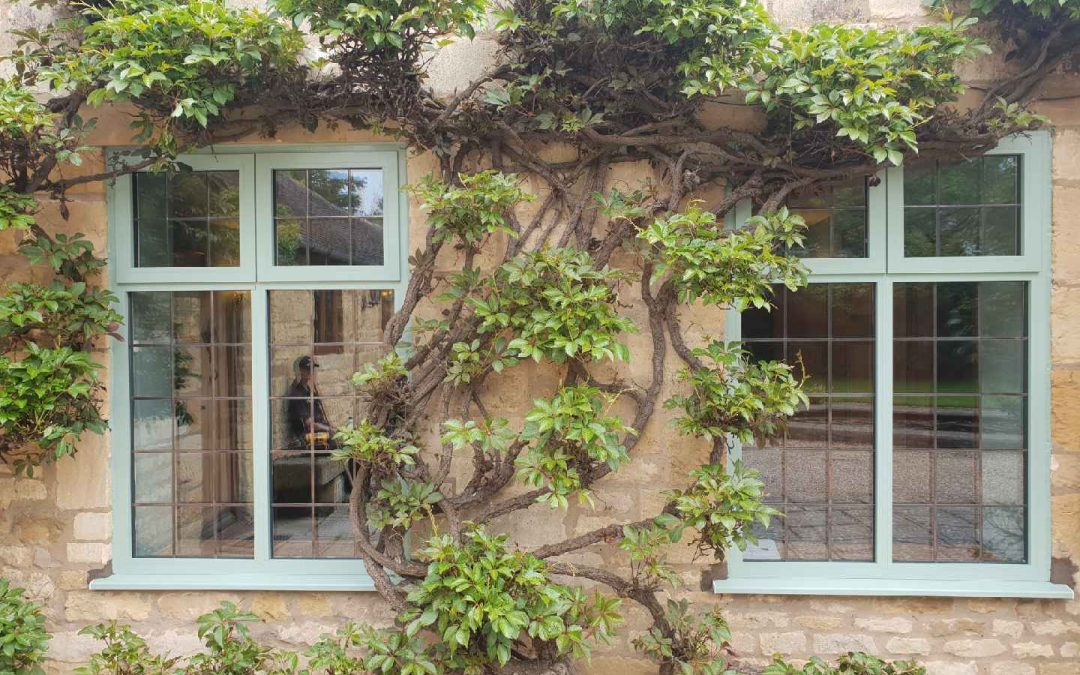 Installing Smarts Aluminium Framed Windows in Chipping Campden Gloucestershire