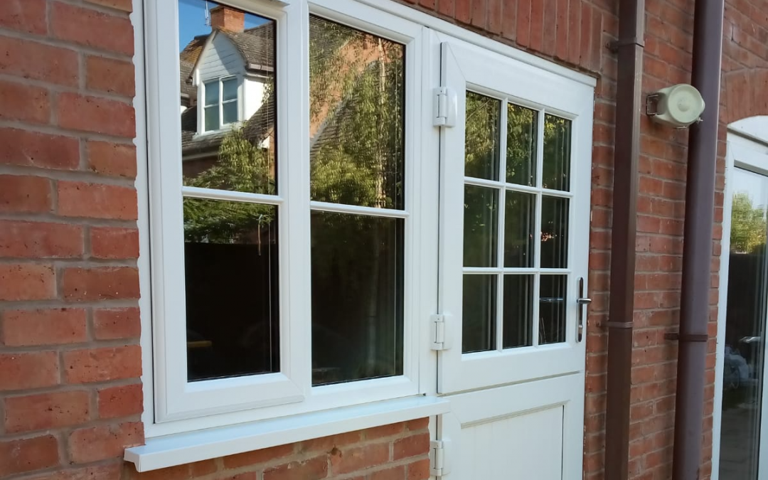 Mrs Hartwell, stable door installation Badsey Worcestershire