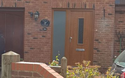 Mr and Mrs Leavesley, Composite Front Door Gloucestershire