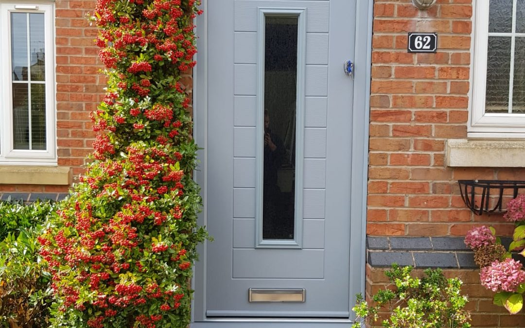 Mrs Spalding, new composite front door Warwickshire