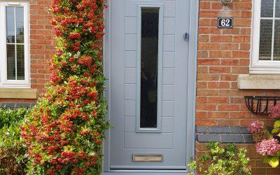 Mrs Spalding, new composite front door Warwickshire