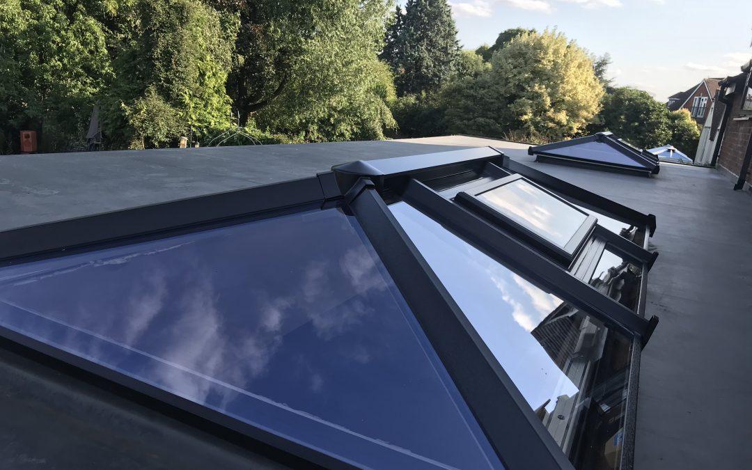 Mr Rodger, Skypod Lantern Roof Installation, Stratford Upon Avon Warwickshire