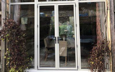 Aluminium windows and doors installation, Temple Guiting, Gloucestershire