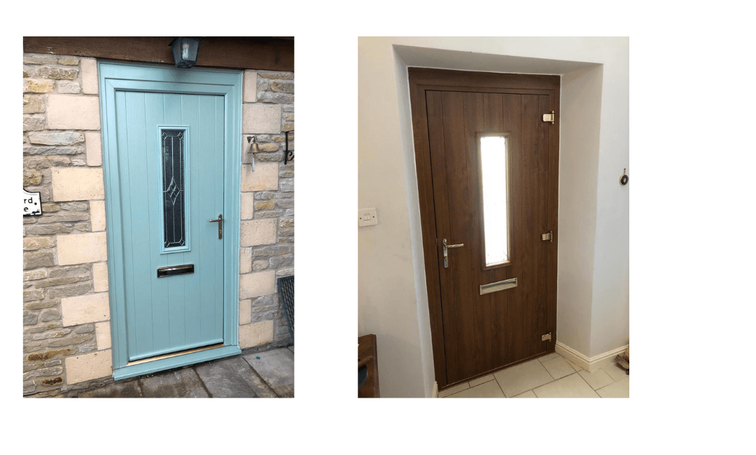 New composite doors, Weston-sub-Edge Gloucestershire