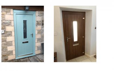 New composite doors, Weston-sub-Edge Gloucestershire