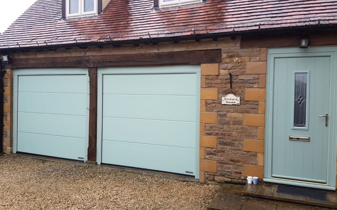 New composite doors and electric garage doors, Weston Subedge Gloucestershire