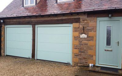 New composite doors and electric garage doors, Weston Subedge Gloucestershire