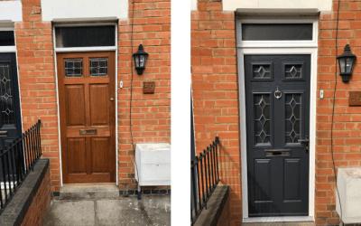Mrs Lane New Composite Door Evesham