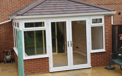 Mrs. Reid, New Conservatory with Guardian Roof System, Worcester