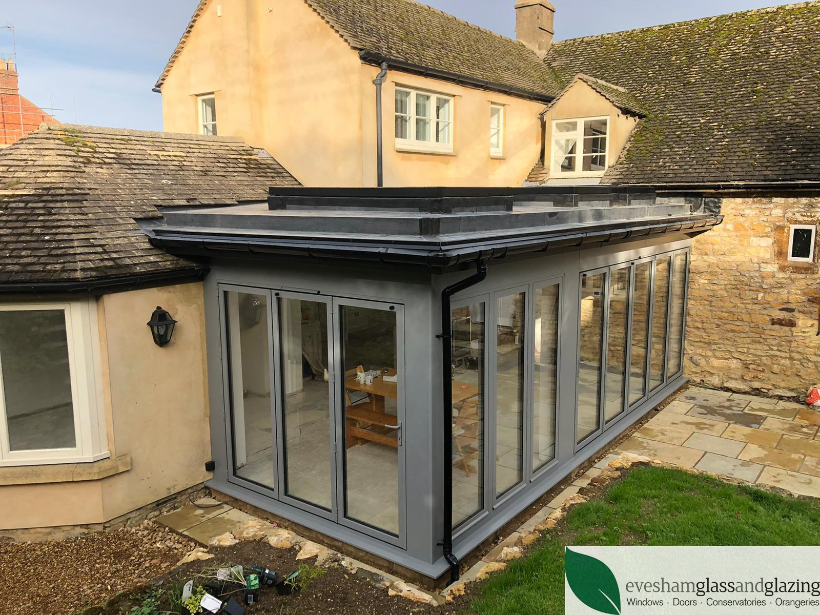 Bi folding aluminium doors, windows and roof lights Oxfordshire