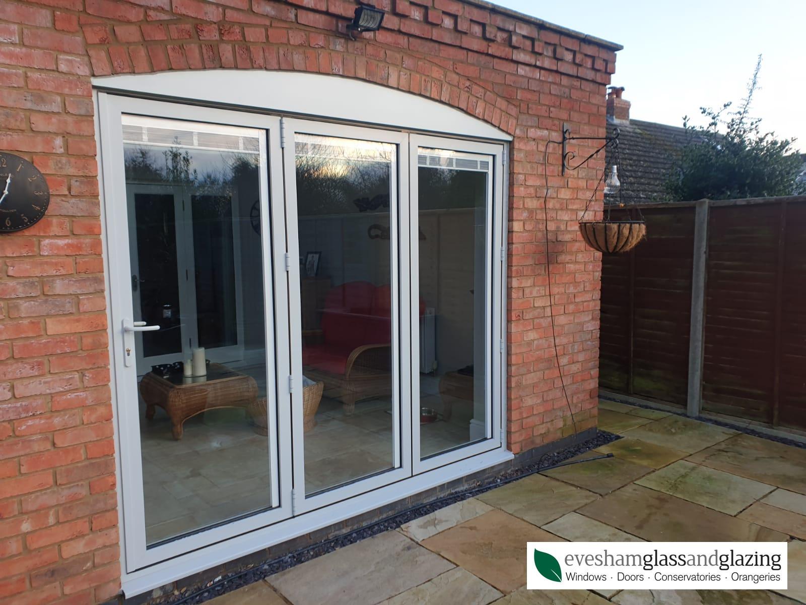 Mr Lloyd-Wright's Smart Visofold doors and Alitherm windows