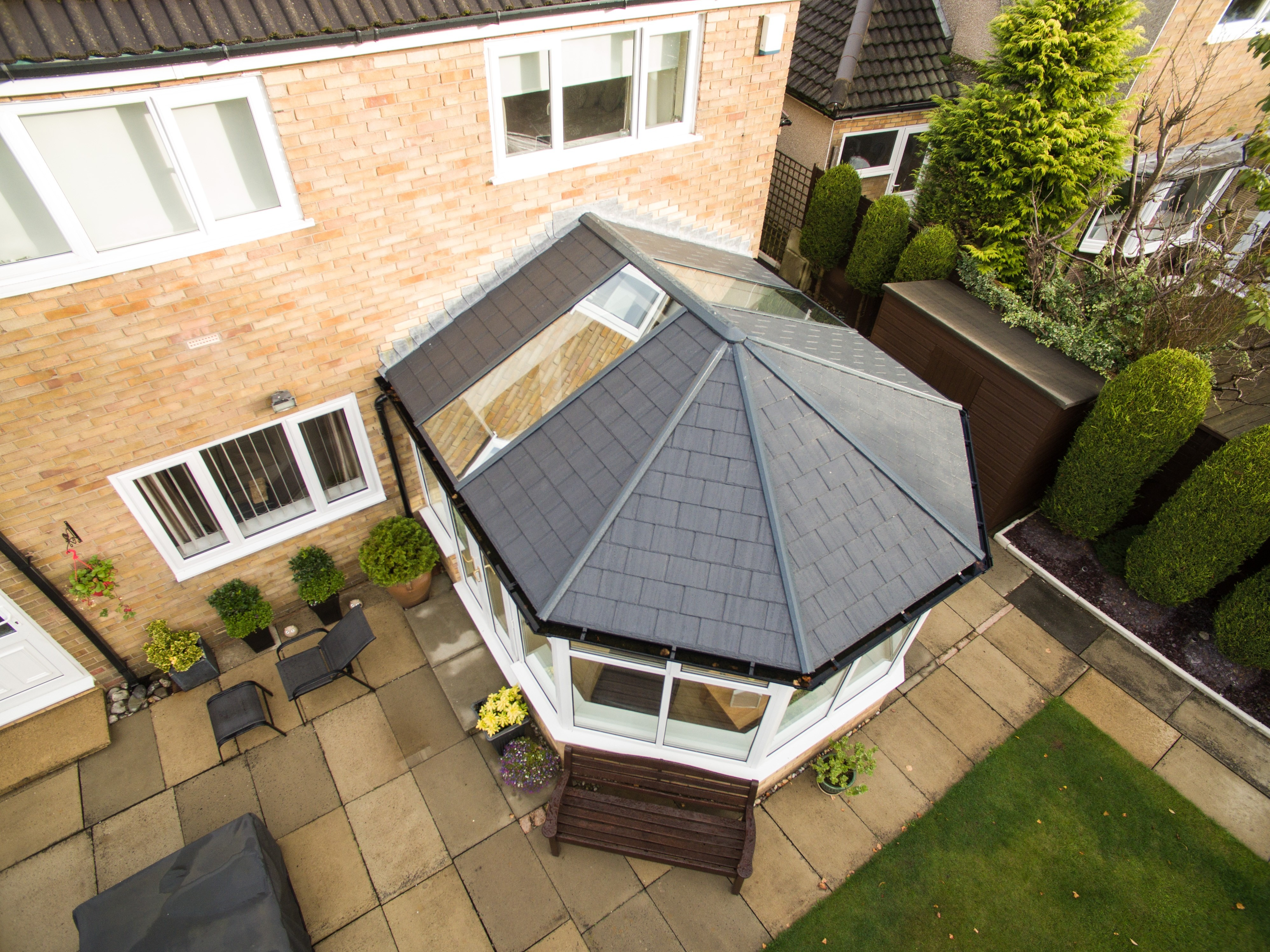 conservatory roofing system ultra frame