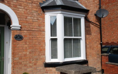 Sliding sash windows in Evesham